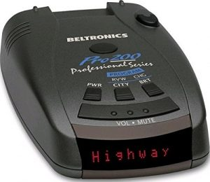 Beltronics Pro 200 Radar Detector Unit