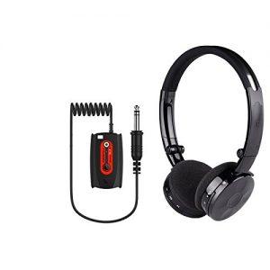"Deteknix Wireless Headphones W6 with 1/4"" Plug for Metal Detector"