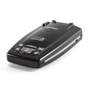 Side view of Escort Passport Radar Detector Unit