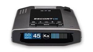 Escort iX Radar Detector Unit front view