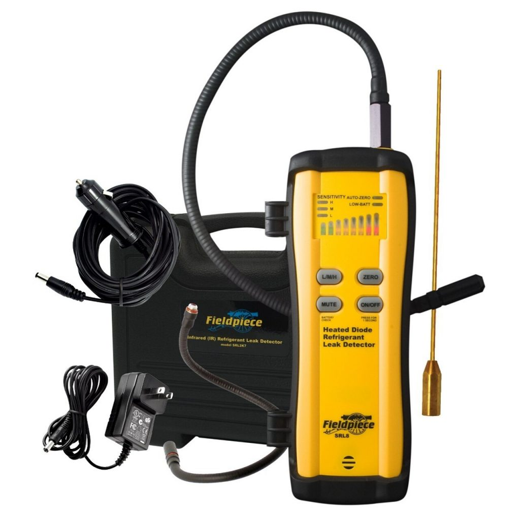 A photograph of Fieldpiece Heated Diode Refrigerant Leak Detector