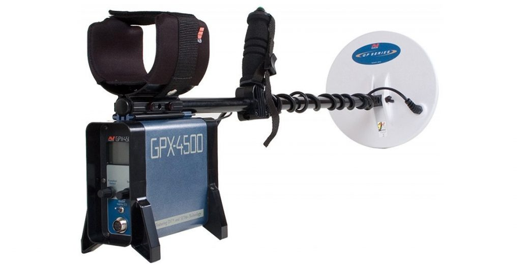 Photo of Minelab Gpx-4500 Gold Prospecting Metal Detector