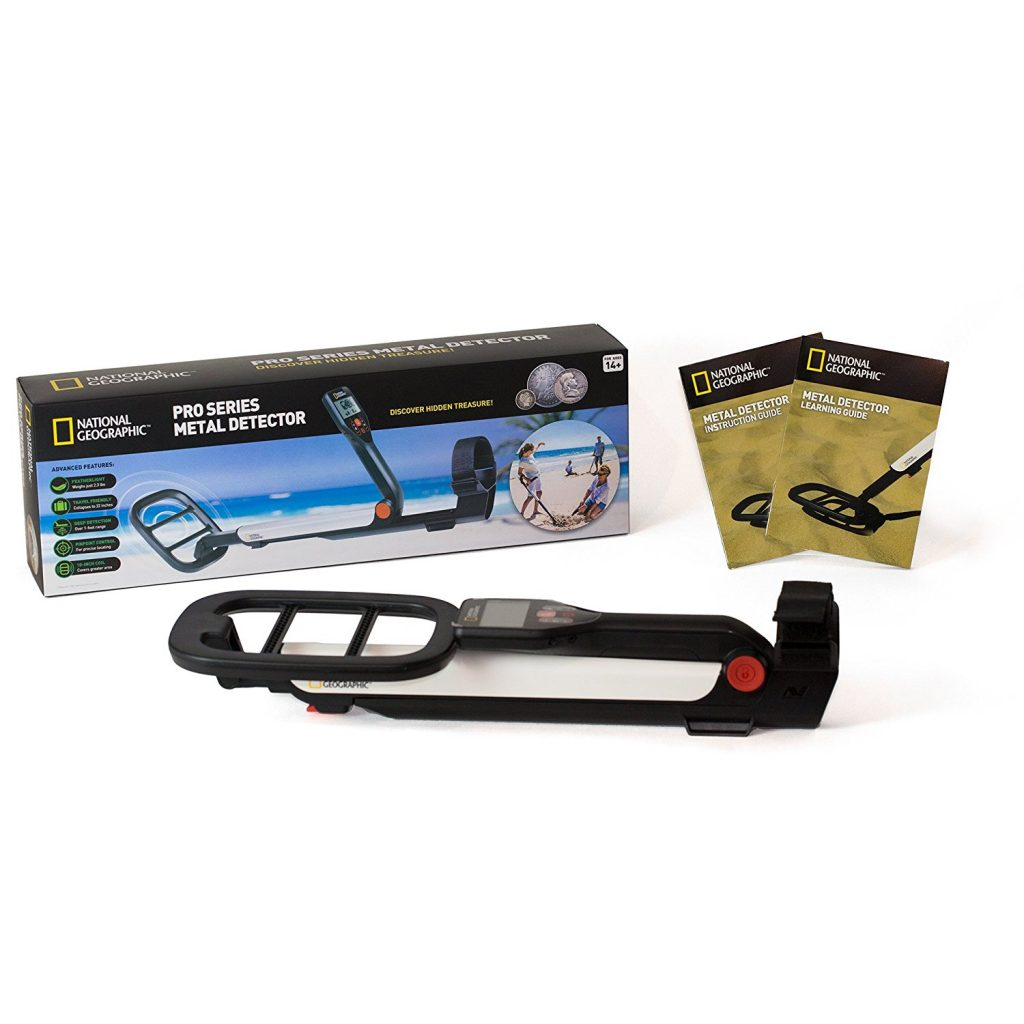 National Geographic PRO Series Metal Detector Full Packaging Kit