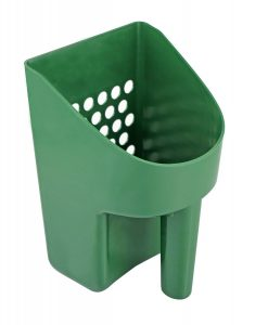 Photo of SE GP3-SS20 Green Plastic Sand Scoop for Treasure Hunting