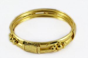 Photograph of a golden ring